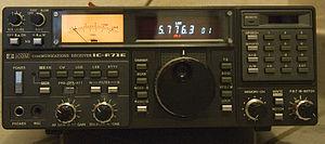 Récepteur pour radioamateur.