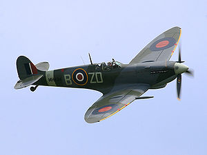 Le Spitfire MH434 lors du Flying Legends de 2005