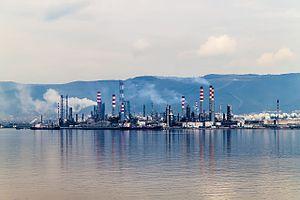 Les raffineries sont le centre névralgique de l'industrie pétrolière