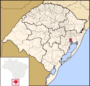 Carte de Porto Alegre