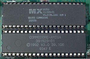 Les Roms d'un Amiga 1200 Version 39.106