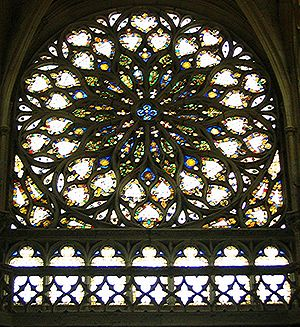Les Andelys, église Notre Dame, vitrail, XVIesiècle, Normandie
