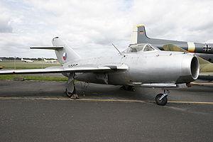 Un S-103, production tchécoslovaque sous licence du MiG-15bis