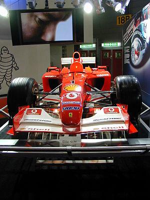Ferrari F2003 GA de Schumacher