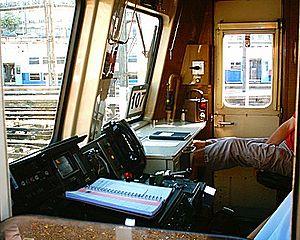 Intérieur de cabine de VB 2N.