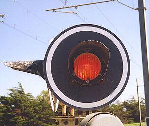 Signal d'annonce lumineux de passage à niveau