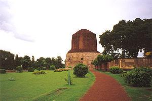 Le Dh�mek St�pa de S�rn�th, Inde