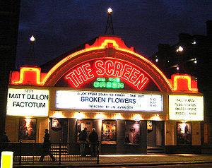 Le Screen on the green, Upper Street dans le quartier d'Islington à Londres