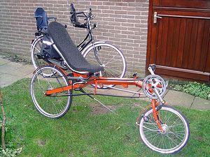 version alternative de la bicyclette