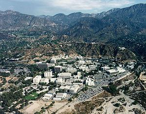 Vue aérienne du site du JPL en Californie