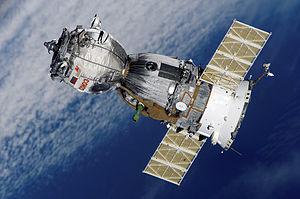 Arrivée du Soyouz TMA-7 à la station spatiale internationale