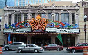 Le State Theatre en centre-ville.