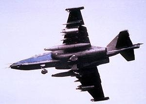 Un Su-25 en vol