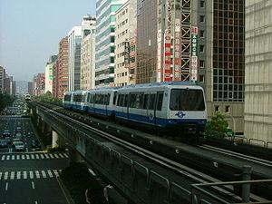 Un VAL 256 du métro de Taipei
