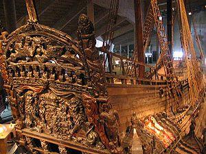 Le château arrière du Vasa