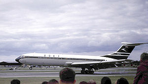 Prototype du VC-10, sous les couleurs de la BOAC