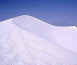 Dunes de gypse de White Sands, Nouveau-Mexique, États-Unis