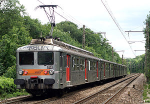 Z 5353 (équipée EAS) à La Rochette (77)