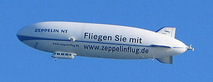Un dirigeable Zeppelin NT