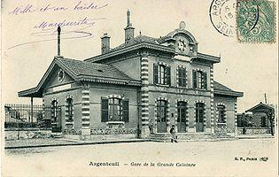 La gare de Grande Ceinture