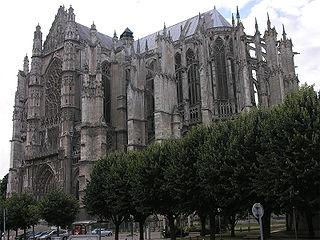 La Cath�drale Saint-Pierre de Beauvais, un des chefs-d'œuvre de l'architecture gothique