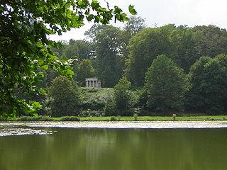 Parc Jean-Jacques-Rousseau à Ermenonville