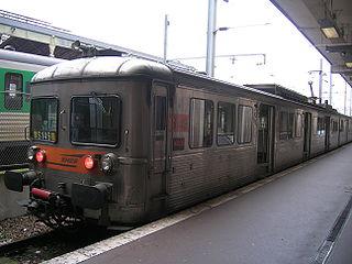 La Z 6149 à Paris-Nord.