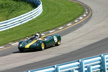 Lotus 23B sur circuit