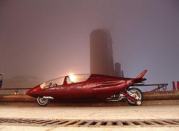 l'Acabion GTBO (359kg, 360ch), produit par un artisan allemand consomme deux fois moins à 160km/h que la plus moderne des compacts diesel. Il peut atteindre 450km/h (à la moitié de sa puissance)