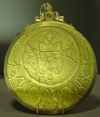 Astrolabe du XVIesiècle.