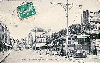 La station de Bourg la Reine