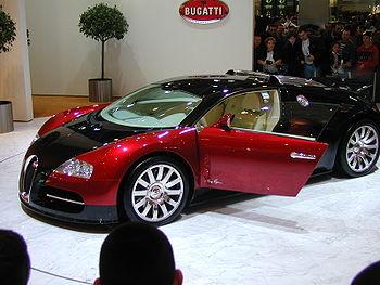 Bugatti Veyron de 2005