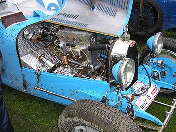 Moteur de Bugatti Type 37A de 1929