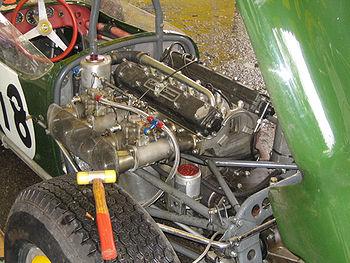 Climax FPF 2500cc dans une Lotus 18 Formule 1, GP historique 2007