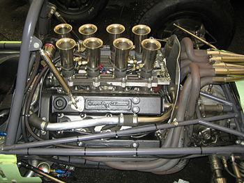 Climax FWMV 1500cc, Lotus 24 Formule 1, Pau GP historique 2007
