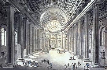 Intérieur de l'église Saint-Philippe-du-Roule