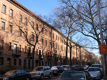 Le quartier de Harlem � New York, traditionnellement un