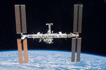 L'ISS en juin 2007, après la mission STS-117