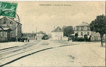 La gare de Longjumeau