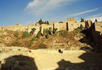 Alcazaba de Malaga (Andalousie)