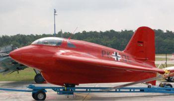 Planeur Messerschmitt Me 163