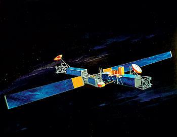 Satellite de communication militaire Milstar des �tats-Unis.