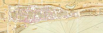 Plan de Montréal durant le régime français