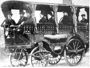 L'Obéissante photographiée en 1875.