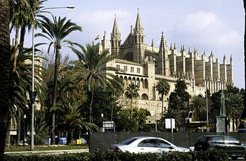 Cath�drale de Palma de Majorque