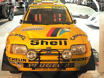 Modèle Grand Raid 1987, 3ème au Paris-Dakar en 1989