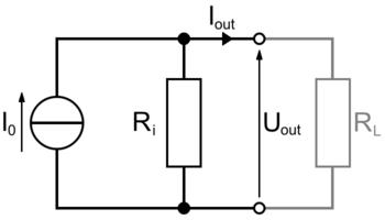 Schéma d'un circuit électrique.