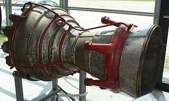 Tuyère de la fusée V2.
