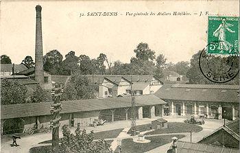 L'Usine de Saint Denis au début du XXesiècle