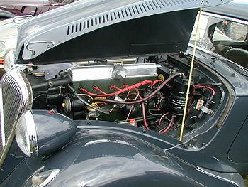 Le moteur à six cylindres